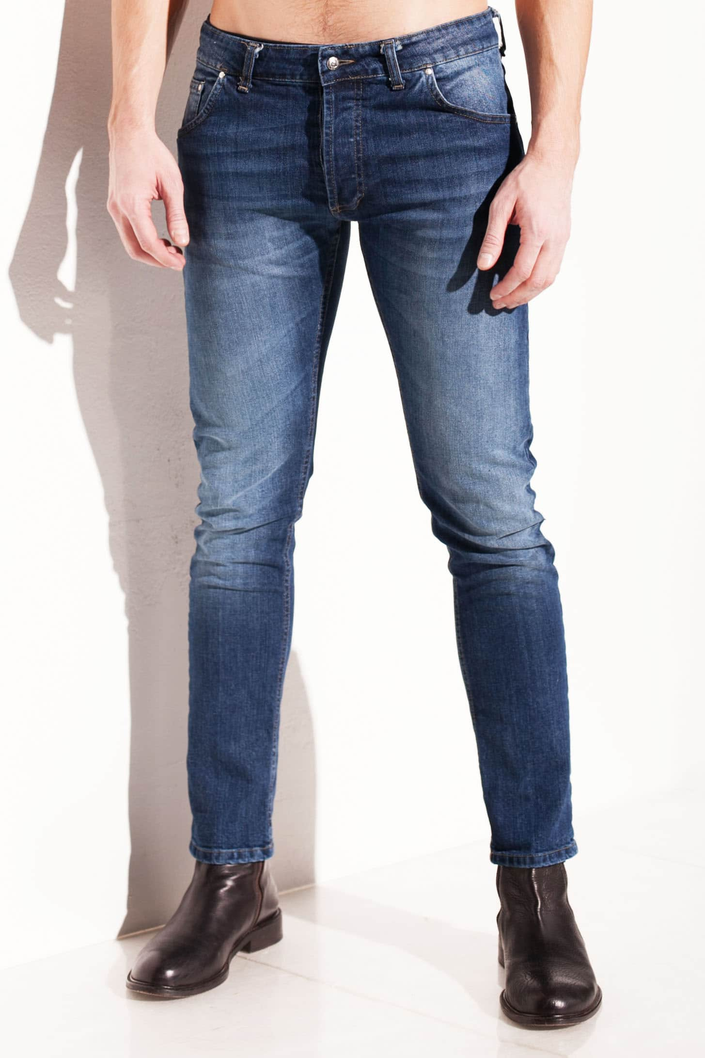jeans Chessa Lab uomo slim fit