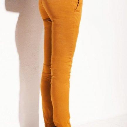 pantalone giallo donna chessa lab