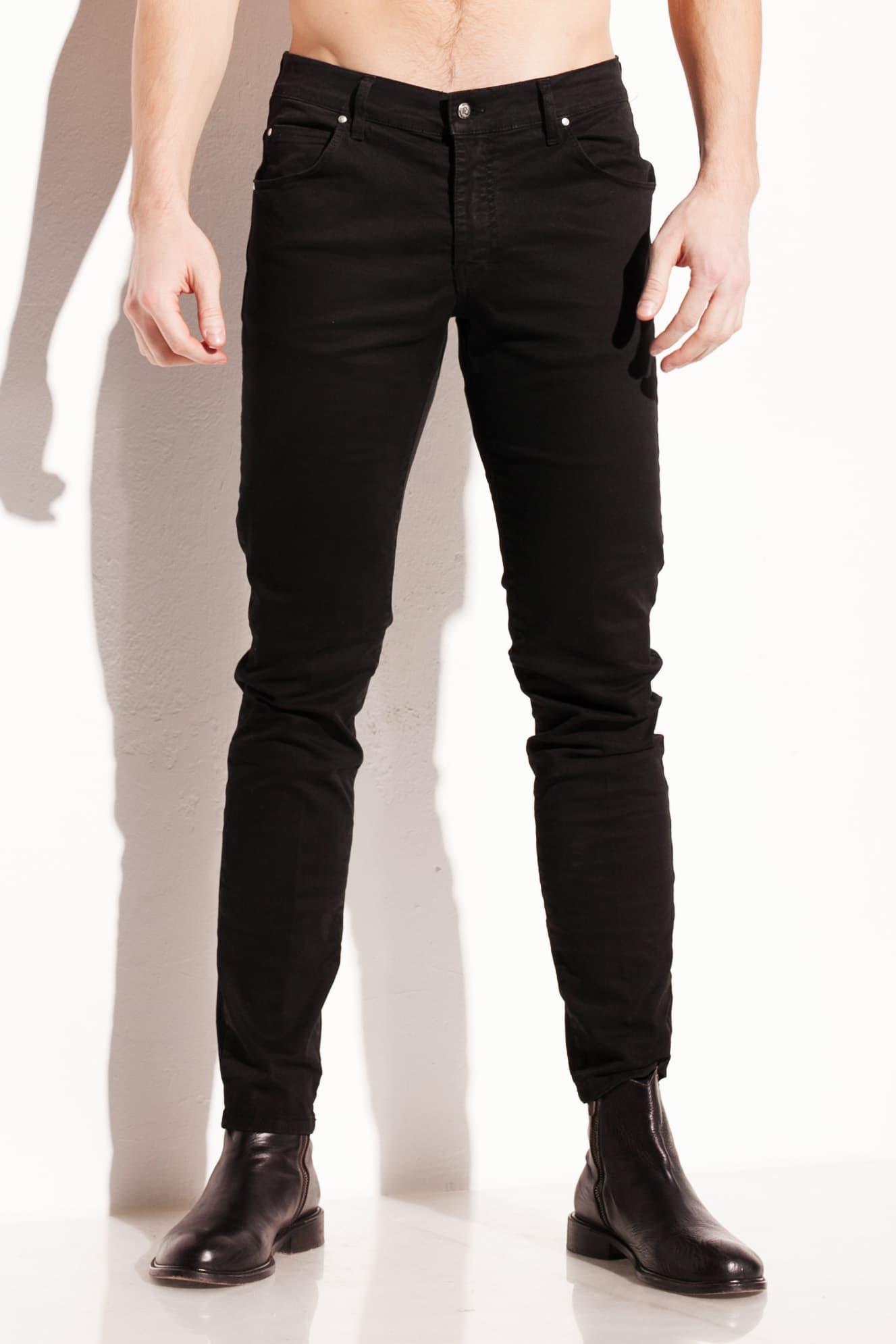 pantalone da uomo nero Chessa Lab